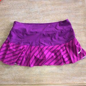 Nike Womens Dri fit Victory Printed Skirt Size L